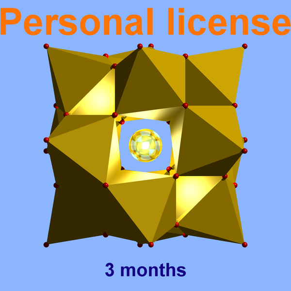 Diamond personal license (valid for 3 months) for individuals