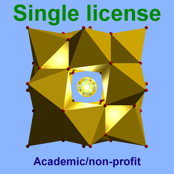 Diamond single license academic / non-profit