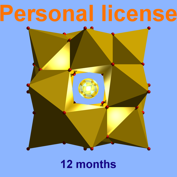 Diamond personal license (valid for 12 months) for individuals